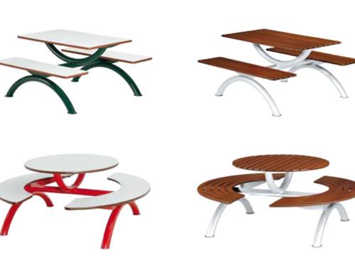 Zit-tafel-combinatie
